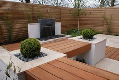 Extended living space - Manchester by Hannah Collins Garden Design