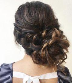 Inspiração de casamento penteado - Heidi Marie Garrett de cabelo e maquiagem