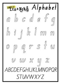 Handwriting formation nsw foundation font foundation fonts and alphabet outline foundation font fandeluxe Image collections