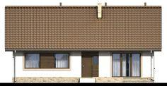 DOM.PL™ - Projekt domu ARN Mokka 2 CE - DOM RS1-78 - gotowy koszt budowy Blinds, Garage Doors, Cabin, Curtains, Outdoor Decor, Home Decor, Prague, Decoration Home, Room Decor