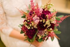 November wedding bouquet. Picture Maria Hedengren