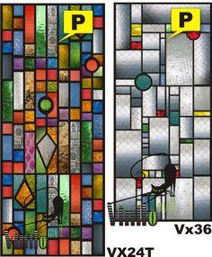 Vitraux Vitro Vinilo Decorativo Transluc Renová Tus Vidrios - $ 425,00