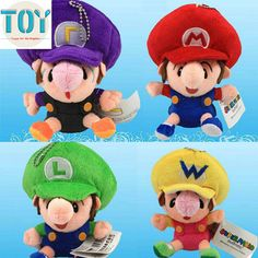 Find More Movies & TV Information about New 1 PCS Super Mario Bros BB Mario Luigi Wario Waluiji Keychain Mini Soft Stuffed Plush Doll Anime Kids Toys Approx 14cm,High Quality keychain charm,China keychain voodoo doll Suppliers, Cheap keychain watch from Toys in the Kingdom on Aliexpress.com
