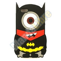 Cute Cartoons 3D Silicone Case Back Cover Skin For iPhone 5/5s/5c