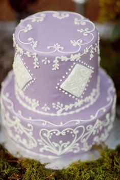 how pretty is this lavender confection?