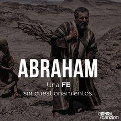 Abraham = A faith without questions. Strong Faith, Faith Hope Love, Faith In God, I Love You God, Gods Love, God Loves Me, Jesus Loves Me, Holly Bible, Bible Guide