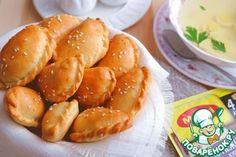 Рецепт: Закусочные мини-пирожки к бульонам