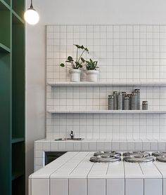 Piccolina Gelateria by Hecker Guthrie - Local Interior Design - Melbourne - The Local Project Commercial Interior Design, Commercial Interiors, Cafe Interior, Kitchen Interior, Kitchen Tiles, Kitchen Dining, Layout Design, Hecker Guthrie, Tile Countertops