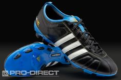 best loved 76969 11f89 adidas adiPure IV TRX FG Football Boots - Black Blue