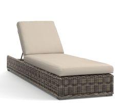 torrey grand ottoman cushion slipcover sunbrella r silver at rh pinterest com