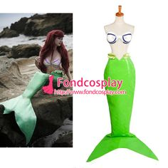 Free Shipping Disney The Little Mermaid - Ariel Outfit cosplay Costume…