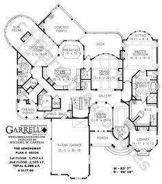 Traditional castle house plans