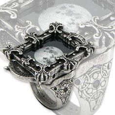 Alchemy Gothic - Moon Phase Optimiser Ring R157