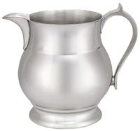 "Pewter Cider Pitcher / 58 Oz. / 7"" Tall"