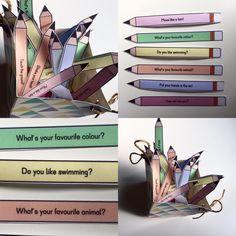 """Hier ein """"Warm-up-Game"""" für den Englischunterricht ! Zu Beginn einer Englischstunde spiele ich mit meinen Kids gerne ein Warm-up-Spiel, so stimmen wir uns auf den folgenden Unterricht ein und wiederholen bei dieser Gelegenheit einige Phrasen und Fragen die wir schon kennen! Die Kinder ziehen einen Stift und suchen sich ein anderes Kind aus, um es etwas zu fragen oder zu etwas aufzufordern! sehr motivierend! Die Vorlage für die """"Warm-up-pencils"""" mit Beispielen und auch einer Blankovorlag..."""