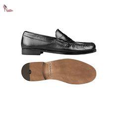 Mocassin - 434-fglbrushedm - Black - 45 - Chaussures superga (*Partner-Link)