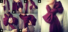Con esta época de viento y frío de #otoño, añade a tu look estos diferentes usos de la #bufanda. ¡Te encantarán!