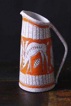 Fratelli Fanciullacci Pottery Vase / Jug, Italy circa 1960's