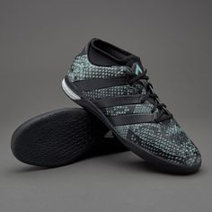 e6b6e3362 adidas ACE 16.1 Street - Mens Boots - Indoor - Vapour Green Core Black