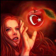 """""""Özünden yüz çeviren bilesin ki mert olmaz,  Kızılelma çilesi sefa olur, dert olmaz,  Ardından yüz bin köpek havlamayan kurt olmaz,  İt ürür, kervan yürür; bırak itler ürüsün!  Türklüğü unutmaktan tanrı Türk'ü korusun! """" Şiir: M. Bahadırhan Dinçaslan"""
