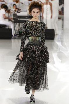 Chanel Haute Couture Spring Summer 2014 Paris - NOWFASHION