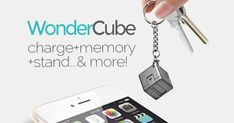 Charger+Memory+PhoneStand+EmergencyPower all in a one-inch cube. Take it with you always, on the go. | Crowdfunding is a democratic way to support the fundraising needs of your community. Make a contribution today!