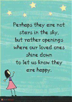 Stars in the sky..