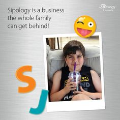 Sipology is a business the whole family can get behind! 👨‍👨‍👧‍👦   #beyourownboss #getstarted #businessowner #startuplife #homebusiness