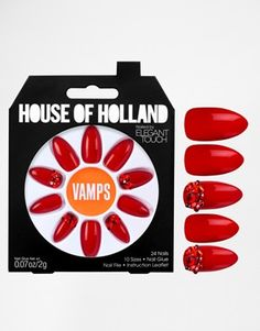 House Of Holland Nails By Elegant Touch - Vamps