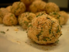 Cheese Truffles - You may have figured out by now that I love cheese. This combines jack and sharp cheddar with celery, shallots, parsley and cayenne into a wonderful appetizer. Click on the link for step by step instructions with pictures.