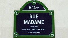 Pourquoi y a-t-il, à Paris, une rue Monsieur, une rue Madame et une rue Mademoiselle? | Mon Paris à moi ! | Scoop.it