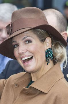January 24, 2017 ♥•✿•QueenMaxima•✿•♥... Launched the National Salon of Education in Utrecht