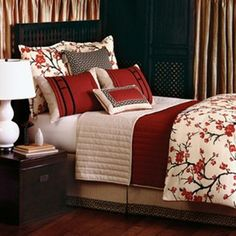 Sakura bedding collection from Eastern Accents