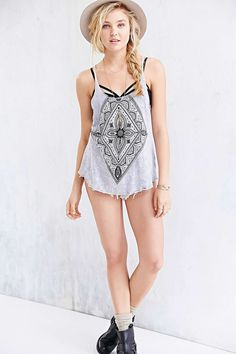 Truly Madly Deeply Mineralized Mehndi Tank Top