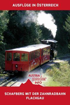 Wer absolut mühelos eine herrliche Aussicht genießen will, dem kann man die Fahrt mit der Zahnradbahn auf den Schafberg nur ans Herz legen.