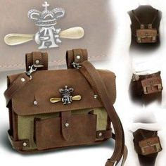 I found 'ALCHEMY GOTHIC Leather and Canvas Steampunk Pouch Bag' on Wish, check it out!