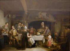 The Haggis Feast (Alexander George Fraser - ) Dunedin New Zealand, Burns Supper, Art Periods, Robert Burns, National Art, Historian, Art Decor, Art Gallery, Fine Art Prints