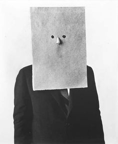 Paper Bag Head - Do i see a Picasso here? - Habañero Collective