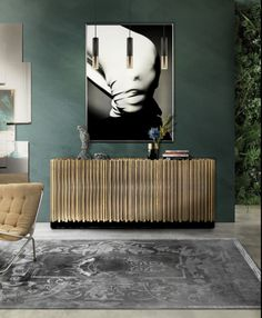 The Symphony Sideboard draws inspiration from church organ tubes, as well as the curves of violin. Like all of Boca do Lobo's designs, the Symphony is hand made by experienced craftsmen, each with different specialities, This Sideboard will be exhibit at Decorex 2015 stand J40A we´re looking forward to your visit. www.bocadolobo.com