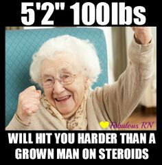 Seriously gotta watch the old ladies strong as bulls every #c.n.a knows lol
