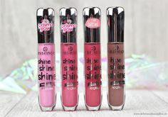essence - shine shine shine Lipgloss - Review & Swatches