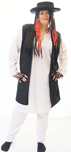 Boy George Fancy Dress Costume With Hat All Plus Sizes Costume Shirts, Costume Dress, Pop Star Costumes, Black Waistcoat, Rajputi Dress, Ladies Fancy Dress, Boy George, Costumes For Women, Plus Size Women