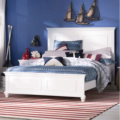 Love this for the Guest Bedroom!  Wayfair - Simmons Casegoods Cape Cod Panel Bed