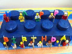 Lego brick birthday cake | Made in the desert