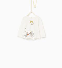 Immagine 1 di Maglietta animali di Zara