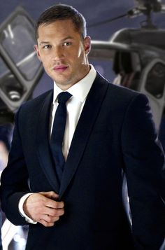 I have this thing for men with great lips who know how to dress!  Thank you Tom Hardy.