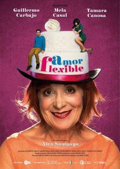"Cartel da obra ""Amor flexible""."