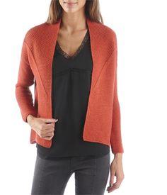 Women's jacket-style cardigan - PULL Womenswear Camaïeu.