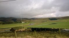 Somewhere on the way to Edinburgh