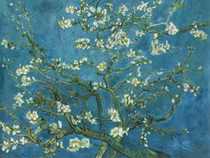 off Hand made oil painting reproduction of Branches with Almond Blossom, one of the most famous paintings by Vincent Van Gogh. Van Gogh's Branches with Almond Blossom is one of some variations on the theme of the almond tree in bloom, painte. Art And Illustration, Vincent Van Gogh, Desenhos Van Gogh, Van Gogh Pinturas, Art Amour, Arte Van Gogh, Van Gogh Almond Blossom, Art Et Architecture, Van Gogh Paintings